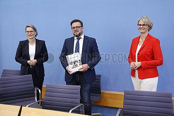 Bundespressekonferenz zum Thema: Veroeffentlichung des nationalen Bildungsberichts Bildung in Deutschland 2020
