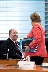 Helge Braun  Angela Merkel  Kabinett