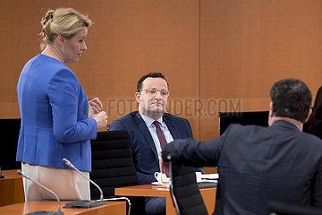 Giffey  Spahn  Kabinett