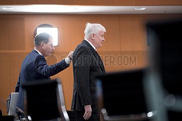 Gerd Mueller  Horst Seehofer  Kabinett