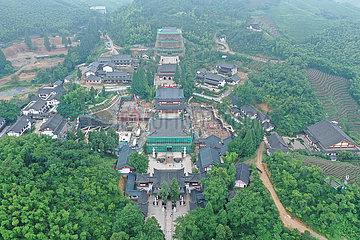 CHINA-ZHEJIANG-jingshan tempel TEA (CN)