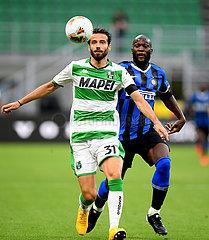 (SP) ITALY-MILAN-FOOTBALL-SERIE A-INTER MILAN VS SASSUOLO