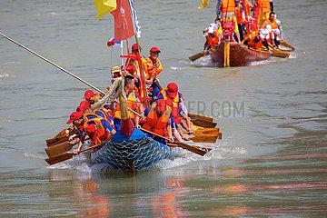 CHINA-SHAANXI-Ankang-Drachenboot-Festival (CN)
