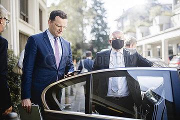 BM Spahn reist nach Genf