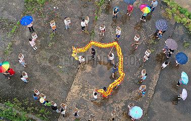 # CHINA-Drachenboot-Festival-FEIER-Antenne  (CN)
