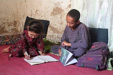 AFGHANISTAN-STREET CHILDREN-UMWELTSCHUTZ