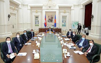 KAMBODSCHA-PHNOM PENH-PM-ASEAN-GIPFEL