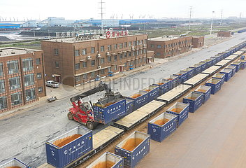 CHINA-HEBEI-Caofeidian PORT-OPEN-TOP CONTAINERS (CN)