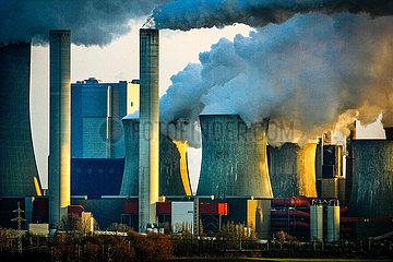 RWE Braunkohlekraftwerk Niederaussem (Archivbild)
