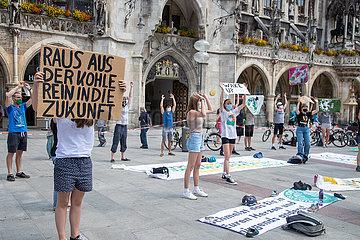 München: Fridays for Future Aktion