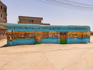 ÄGYPTEN-Qena-KUNSTLEHRER-VILLAGE-OPEN-AIR MUSEUM