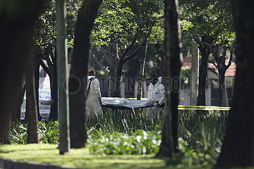 MEXIKO-Mexiko-Stadt-Polizeichef-ATTACK