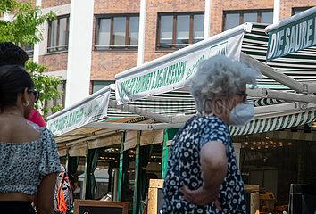 Corona Virus: Wirtschaftsleben in München