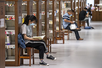CHINA-SHANXI-TAIYUAN-HOLIDAY-BIBLIOTHEK (CN)