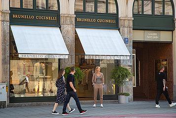 Coronakrise: München in guter Einkauflaune