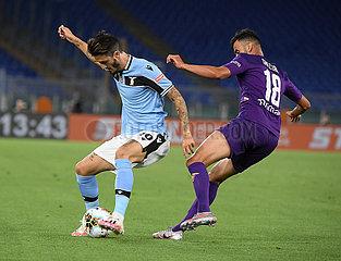 (SP) ITALY-ROME-FOOTBALL-SERIE A-LAZIO VS FIOREN