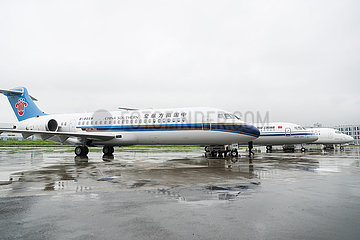 CHINA-Shanghai REGIONALEN Jetliners-ARJ21-DELIVERY (CN)