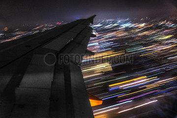 Fluggzeug Landung