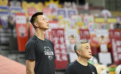 (SP) CHINA-DONGGUAN-BASKETBALL-CBA-LIGA-GUANGDONG VS TIANJIN (CN)