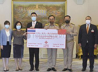 THAILAND-BANGKOK-CHINA-medizinische Geräte-SPENDETE THAILAND-BANGKOK-CHINA-medizinische Geräte-SPENDEN