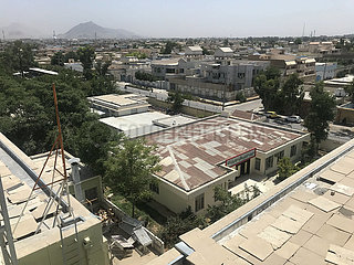 AFGHANISTAN-KANDAHAR-COVID-19-CHINESE HOSPITAL