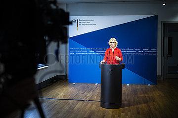 Pressestatement Christine Lambrecht