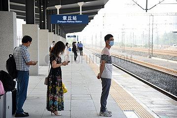 CHINA-SHANDONG-RAILWAY-PASSENGER TRIPS (CN)