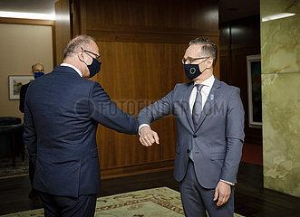 BM Maas trifft Gordan Grlic Radman