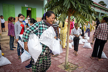 CAMBODIA-WFP-FOOD-DISTRIBUTION