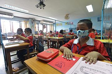 THAILAND-BANGKOK-COVID-19-SCHOOL-REOPENING