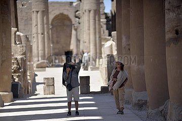 EGYPT-LUXOR-TEMPLE-REOPENING