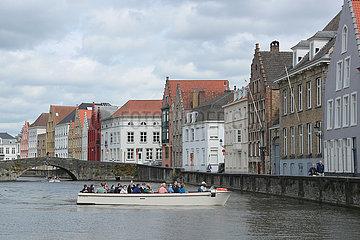 BELGIUM-BRUGES-COVID-19-TOURISM