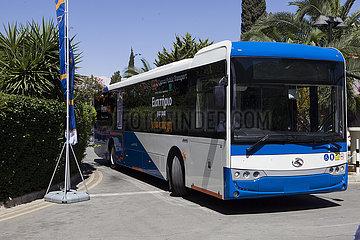 Zypern-NICOSIA-CHINA-BUSSE