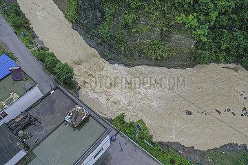 CHINA-CHONGQING-QIANJIANG-FLOOD (CN)