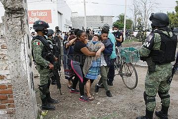 MEXICO-GUANAJUATO-REHABILITATION CENTER-ATTACK