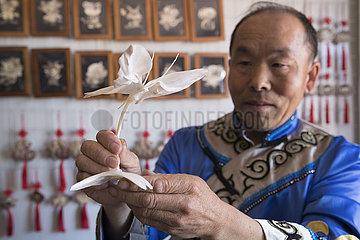 CHINA-HEILONGJIANG-Hezhe ethnische Gruppe (CN)