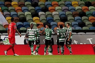 (SP)PORTUGAL-LISBON-FOOTBALL-PORTUGUESE LEAGUE-SPORTING CP VS GIL VICENTE