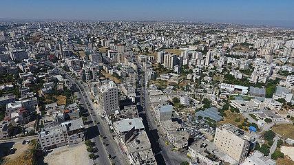 MIDEAST-HEBRON-COVID-19