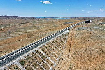 CHINA-XINJIANG-AFUZHUN-RAILWAY (CN)