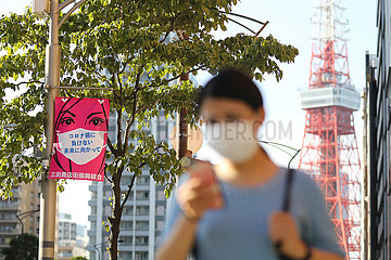 JAPAN-TOKYO-COVID-19