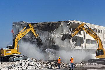 GRIECHENLAND-ATHEN-ehemalige Flughafen-SANIERUNG