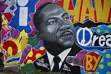 Graffity Martin Luther King