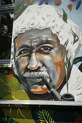 Graffity Albert Einstein