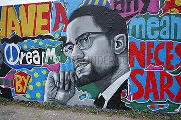 Graffity Malcolm X