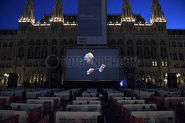 ÖSTERREICH-WIEN-RATHAUSPLATZ-FILM FESTIVAL ÖSTERREICH-WIEN-RATHAUSPLATZ-FILM FESTIVAL