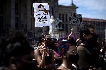 No to Racism - Black Lives Matter