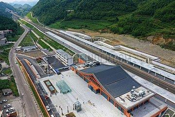 CHINA-GUIZHOU-Anshun-Liupanshui-Bahn (CN)