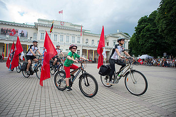 LITHUANIA-VILNIUS-STATEHOOD DAY-CELEBRATION