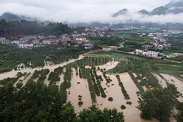 CHINA-HUNAN-SHIMEN-FLOOD (CN)