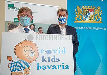 Vorstellung der Langzeitstudie Covid Kids Bavaria
